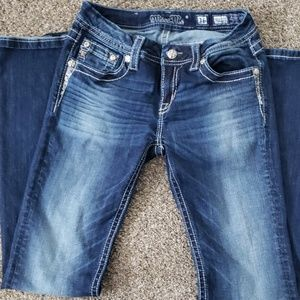 Girls size 16 miss me Jean's never worn